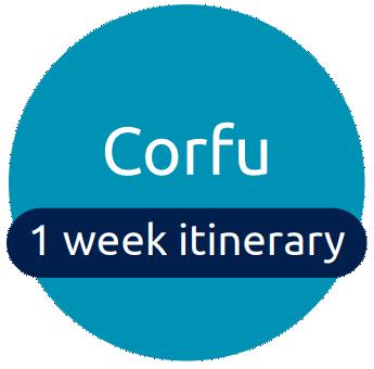 Corfu itinerary