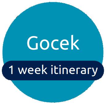 Gocek itinerary