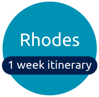 Rhodes itinerary